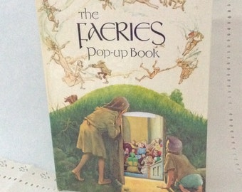 The Faeries Pop-Up Book - rare - collectible