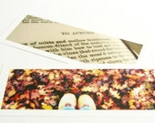 John Keats Autumn bookmarks (set of 2) literature, Fall, romantic for gift enclosures, Thank You, book lover, poetry lover