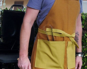 Durable Grilling or Gardening Apron