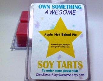 Apple Hot Baked Pie Soy Tart Melts - Scented Wax Bar
