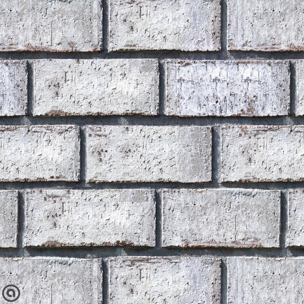 Whitewash Brick Wall: Removable Wallpaper Whitewashed Brick Peel & Stick Self