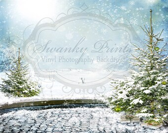15ft x 12ft Vinyl Photography Backdrop / Custom Photography Prop / Enchanted Forest