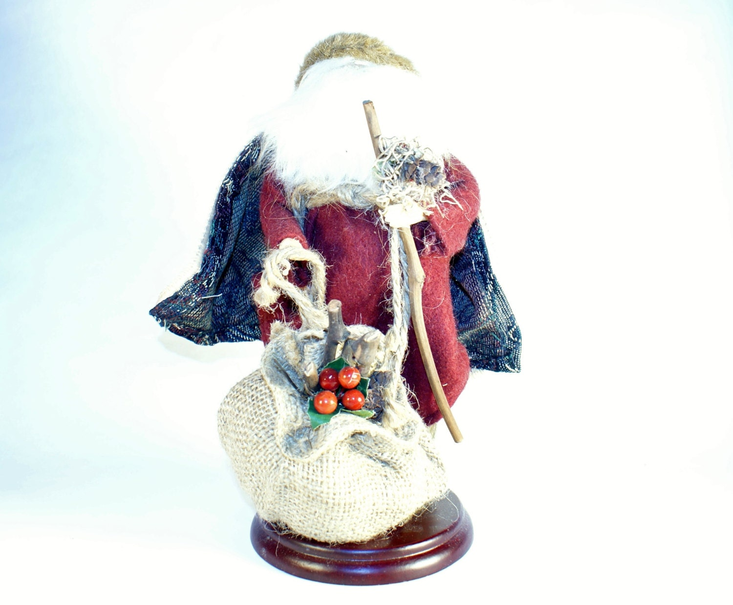 Santa statue claus christmas figurine holiday tall decoration