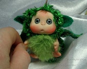Green  Blue Dragon Baby, Green Cute Baby Doll, Christmas Easter  decoration, gift