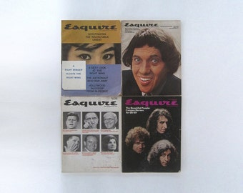 ESQUIRE Collection 60s 70s GEORGE LOIS Graphic Design