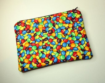 Rainbow Smarties Cosmetics / Make up Bag