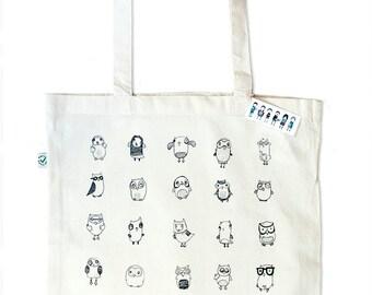 Ugly Owls Tote Bag