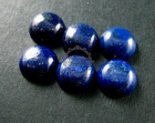 4pcs 10mm blue lapis lazuli round cabochon special jewelry findings supplies for ring,earrings411007