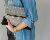Fold Over Clutch with Pockets