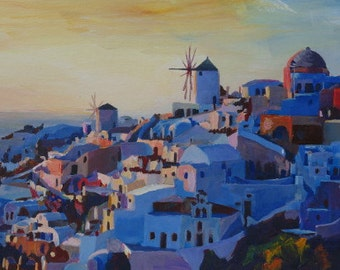 Santorini, Greece - View from Oia - Limited Edition Fine Art Print - Original available