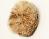 WINTER SALE ! Vintage Natural Wildcat Fur Made in Canada Women Hat