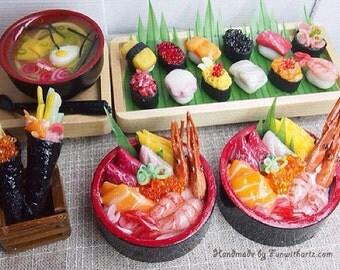 Miniature Food - Chirashi DOn