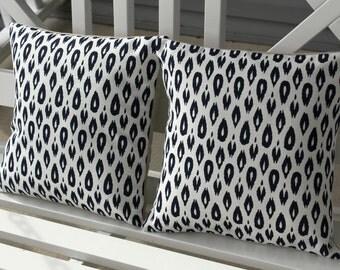 Cheetah Pillow Cover Set 12x23