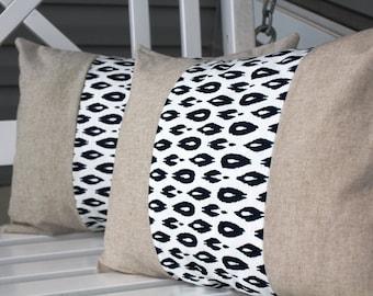 Cheetah Pillow Cover Set 12x16