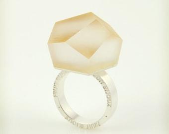 Vu – clear gold, silver ring -=PYO=-