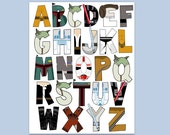 Star Wars Alphabet poster 16x20 and letter pack- Digital File