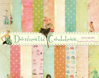 Domestic Goddess Paper Set