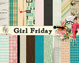 Girl Friday Paper Set