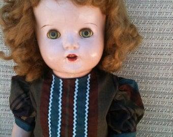 "Vintage 24"" doll"