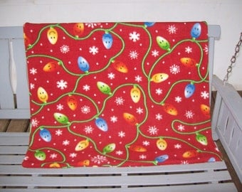Christmas, Lights,Fleece,Blanket,Cover,Gift,Photo Prop,Babies,Boys,Girls,Toddlers,Children,Infants,Holidays,Stroller