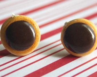 doughnt earrings kawaii polymer clay charms miniature food jewelry polymer clay food earrings donut earrings earring studs dunkin donuts