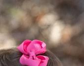 FLORAL pink headband