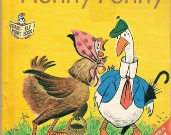 Henny Penny Vintage Children's Start Right Elf Book Illustrated by George Tweedale 1966