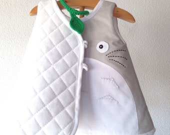 Totoro  dress  03 -18months, my neighbor totoro dress, totoro lovers clothes