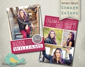 Graduation Announcement Templates -  Senior Graduation 40