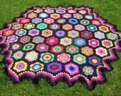 pattern for hexagon picnic blanket