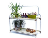 Plant Table / Growing Table / Seedling Cart / Wheeled Planter Cart / Portable Garden / Indoor - Outdoor