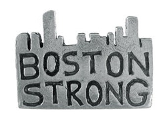 Boston Strong Lapel Pin - CC583