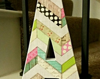CUSTOM cardboard Letter of Your Choice 8 inches tall