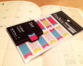 tiny sticker for your schedule, planner, Midori,Filofax, diary birthday sticker candle sticker 14