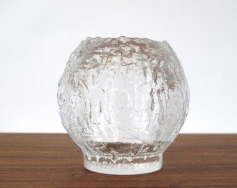 Glass Orb Candle Holder
