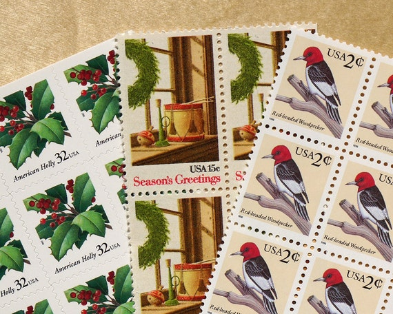 Season Greetings 20 Cent Stamp