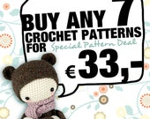 7 lalylala crochet patterns for 33,- Euro SPECIAL DEAL