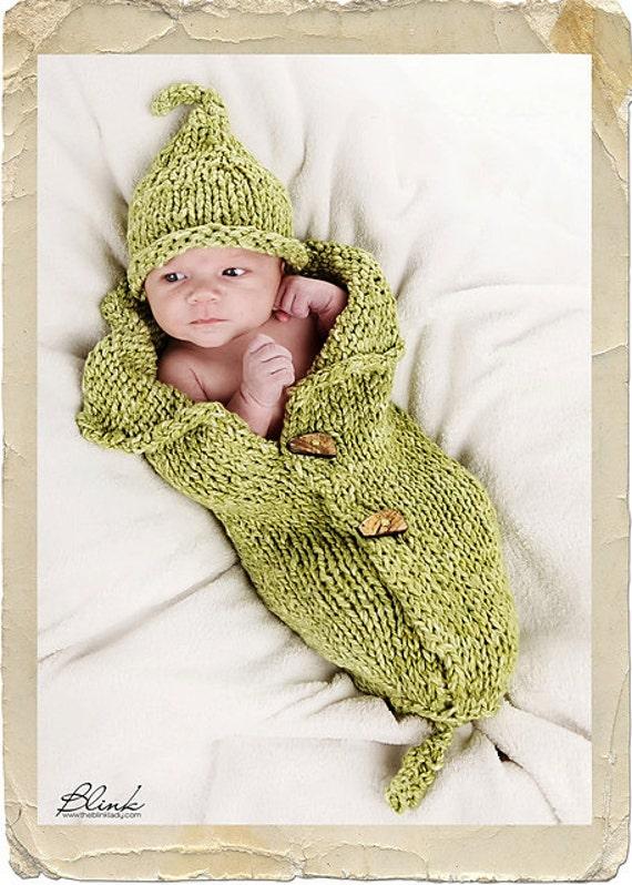 Peanut & Peadod Baby Wrap Cocoon