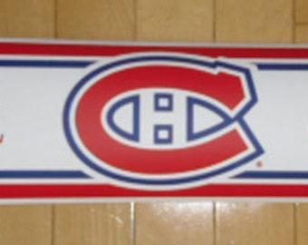 Wallpaper Border - NHL Licensed Wallpaper Border - Montreal Canadiens Wallpaper Border - Hockey Wallpaper Border - Trademarx RB_CAN Border