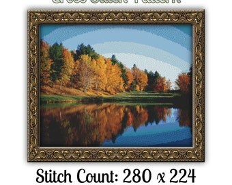 Nature's Finest Cross Stitch Pattern No.64 Instant Download pdf  For All