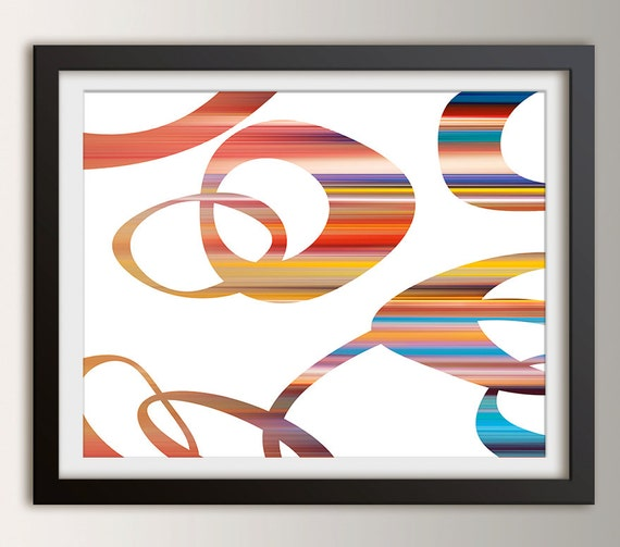 Mid Century Modern Wall Art Affordable Fine Art Print