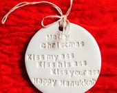 Merry Christmas Clark Griswold Quote Christmas Tree Ornament