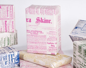 Spring Swedish Newspaper / Wrapping Paper