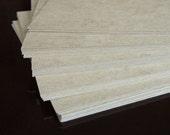 Chipboard 8.5 x11 x .022 Craft board Kraft Board Cardboard backing board backer board photography supplies envelope stiffeners