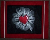Ruffled Heart Valentines Placemats