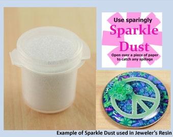 Sparkle, Glitter Dust - Fine Craft Glitter - Great for Resin