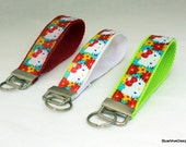 Hello Kitty Key Fob Wristlet - Pick your color