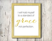 Standard of Grace Print, INSTANT DOWNLOAD, Printable