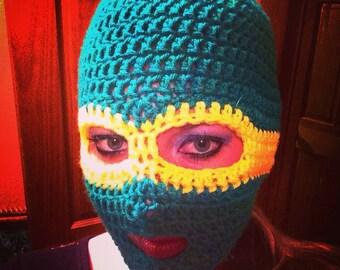 TMNT Crochet Ski Mask any size any color