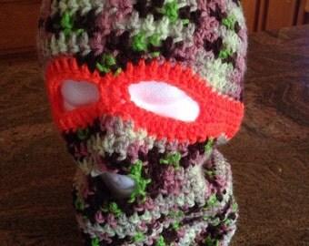 Crochet Hunter's Ski Mask